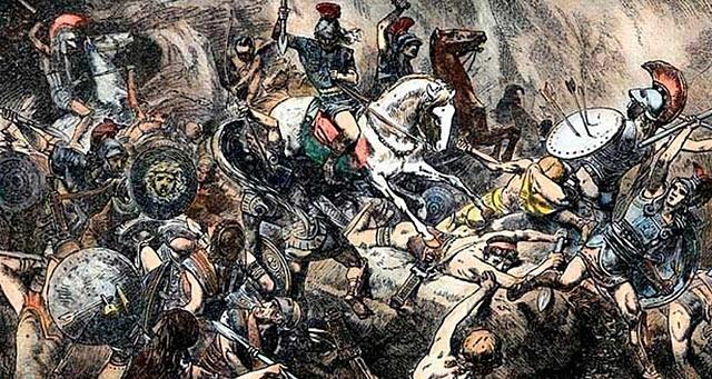 Esparta vence a Atenas en la guerra del Peloponeso