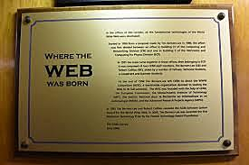 The WWW is born