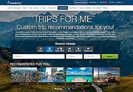 First travel website: Travelocity
