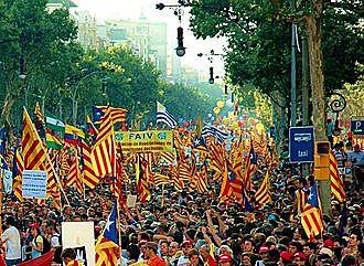 Inici del procés independentista català