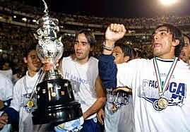 Third title of Pachuca equal vs Tigres
