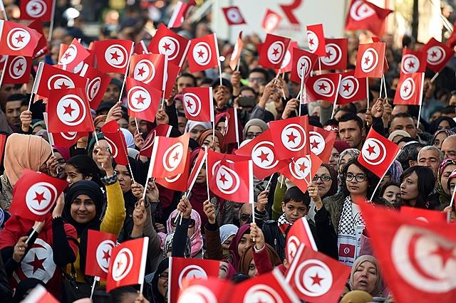inicio de la primavera Árabe: Túnez