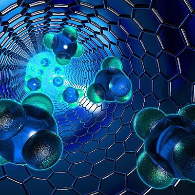 """Команда """"Три программиста"""" - """"Немного из истории развития нанотехнологии"""" timeline"""