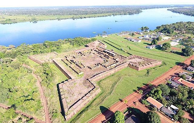 Construção do Forte Real Príncipe da Beira (Q2-2015)