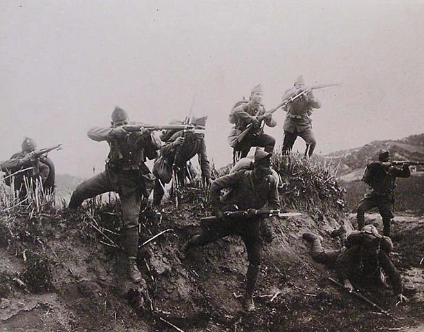 Scoppio della guerra greco turca, occupazione di Smirne