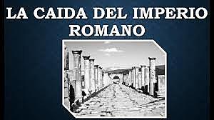 Caída imperio romano de occidente