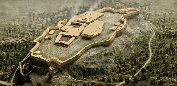 Beginning of Mycenaean Period