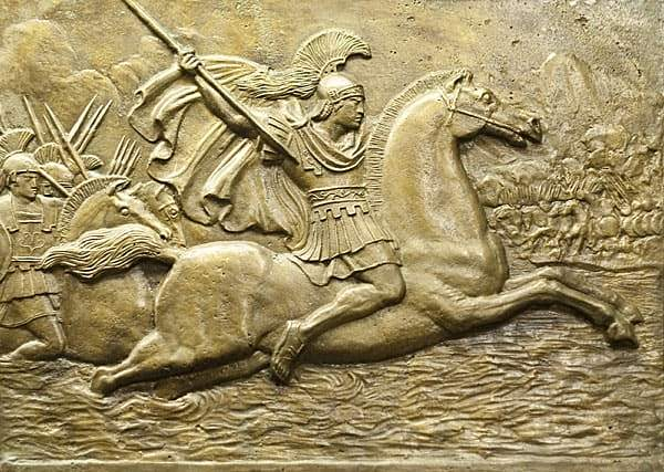 Alexander the Great Came to Power