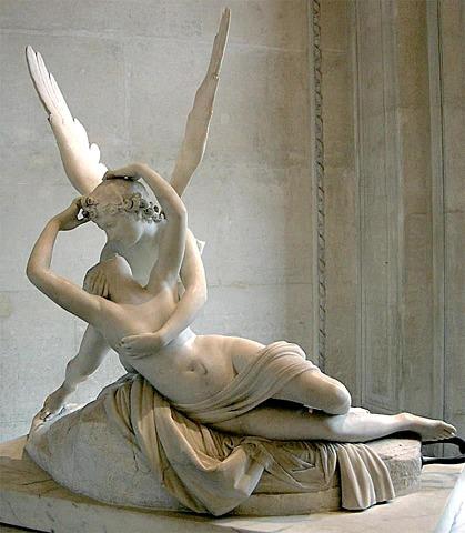 CANOVA - EROS I PSIQUE (escultura)