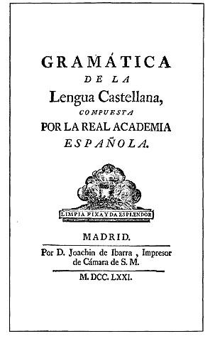 Gramática de la Real Academia Española
