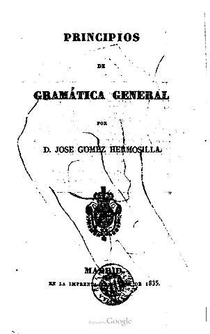 José Gómez Hermosilla