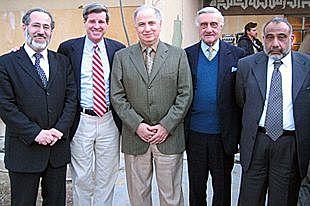 Il Consiglio del governo di transizione iracheno è  composto anche da 5 curdi