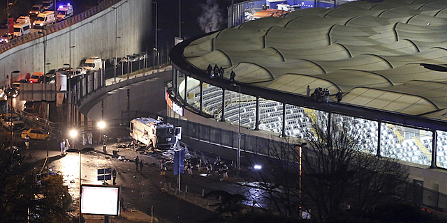 [TR] Autobomba e un kamikaze curdo esplodono fuori lo stadio di Beşiktaş