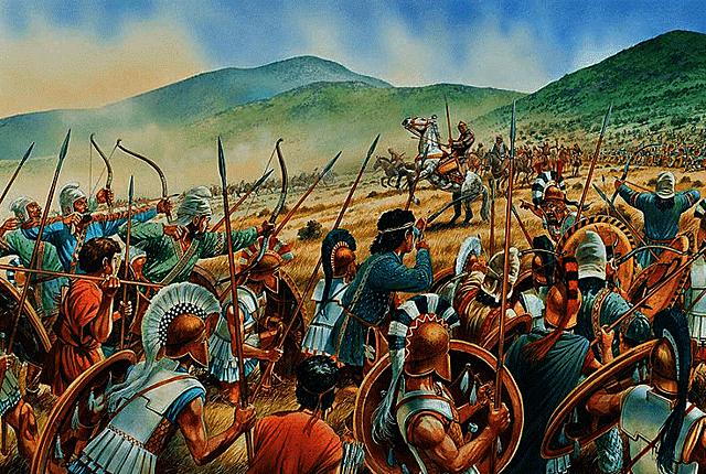 rebelion jonica contra los persas