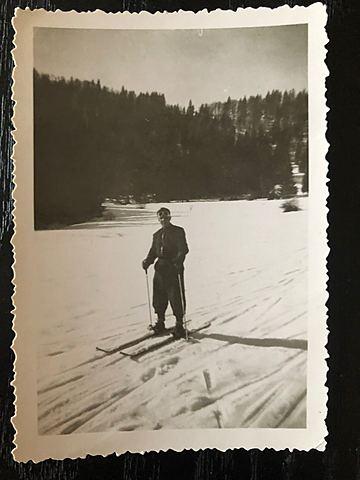 Robert au ski