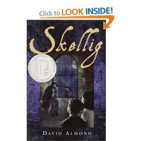 """Skellig; the story of a strange, part - human """"creature"""" who lives of two young children forever."""