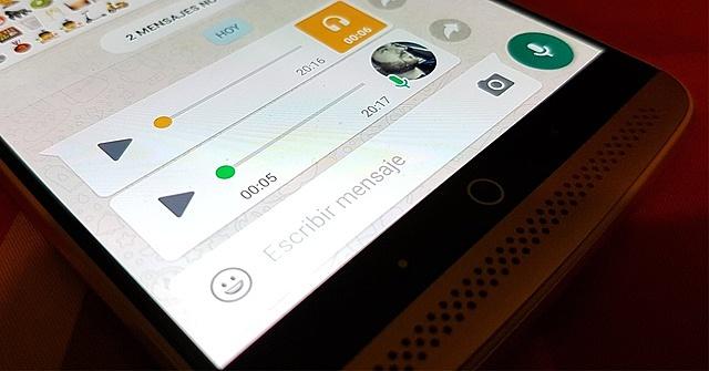 Nacen las notas de voz en Whatsapp
