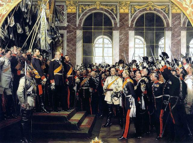 Crowning of Wilhelm I