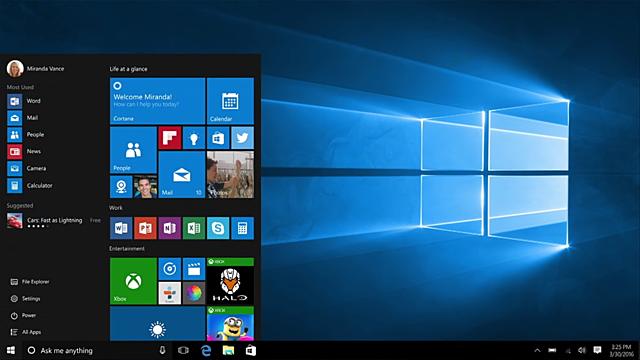 Nace Windows 10