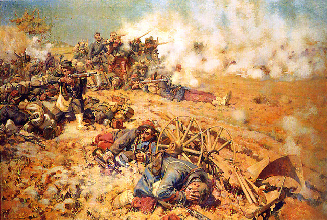 End of the Franco-Prussian War