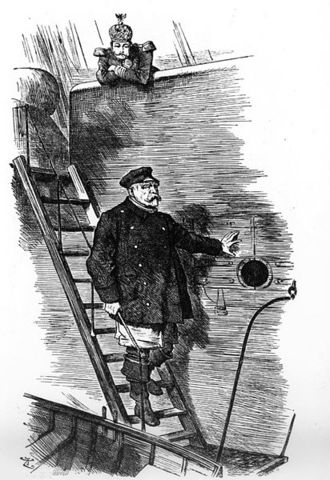 Resignation of Otto von Bismarck