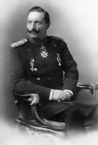 Wilhelm II crowned