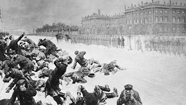 Russia Bloody Sunday Revolution