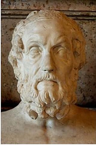 Nacimiento de Homero