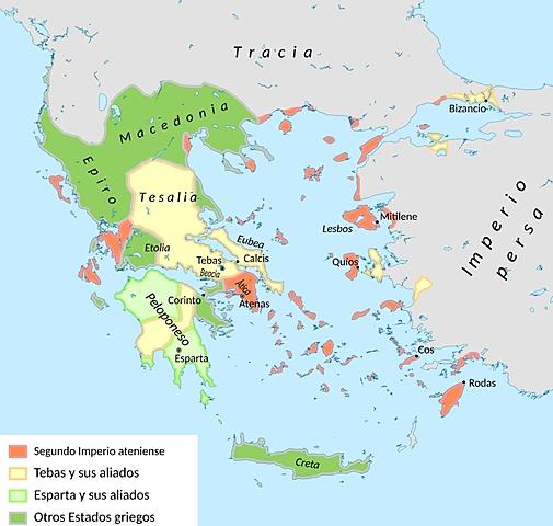 Inicio de la Hegemonia de Tebas