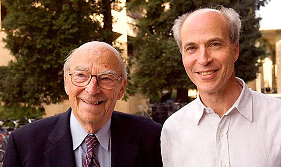 Severo Ochoa eta Arthur Kornberg-en Nobel saria
