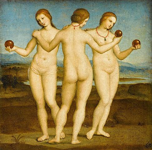 Raphael's The Three Graces