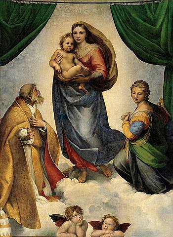 Raphael's Sistine Madonna