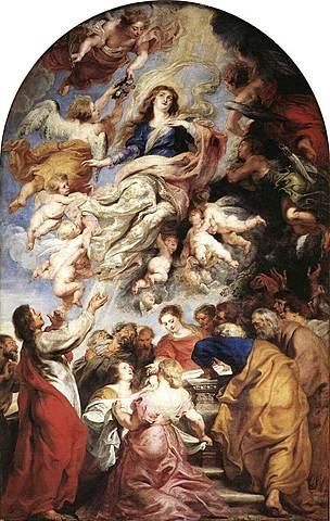 Titian's Assumption of the Virgin