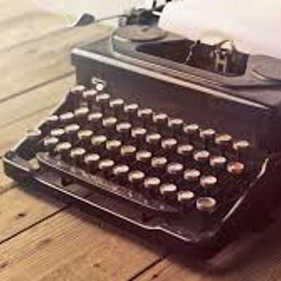 Maquina de escribir timeline