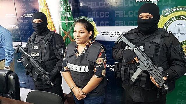 Imputan a excandidata del MAS por muertes y enfrentamientos en Montero