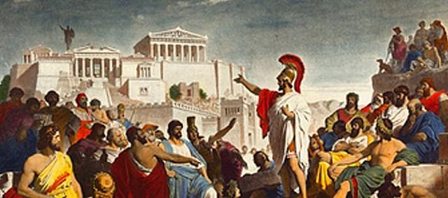 La tiranía de Atenas