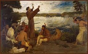 Father Paul du Poisson makes a second attempt to convert the Quapaw