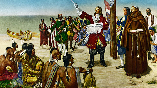 Alliance between Quapaw and colonials, and war