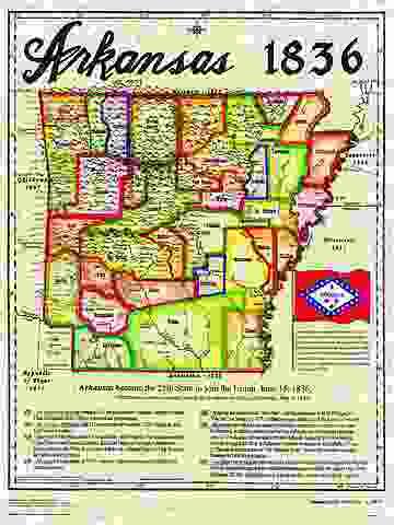 Arkansas has enough inhabitants to qualify for statehood