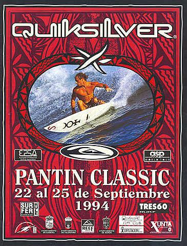 """1994 - Fred Robin, de Islas Reunión, vence la prueba europea, y Eneko Acero el campeonato WQS, en la primera final """"men to men"""" que se celebra en Pantín"""