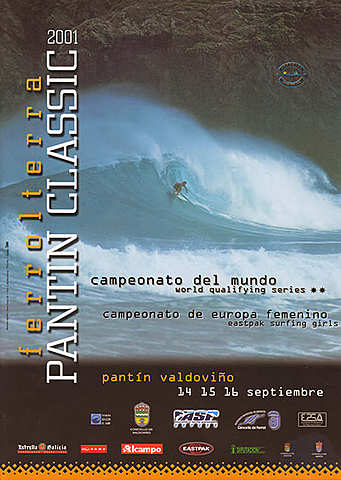 2001 - El hawaiano Shawn Sutton y de nuevo la francesa Marie-Pierre Abgrall se hacen con los títulos de vencedores