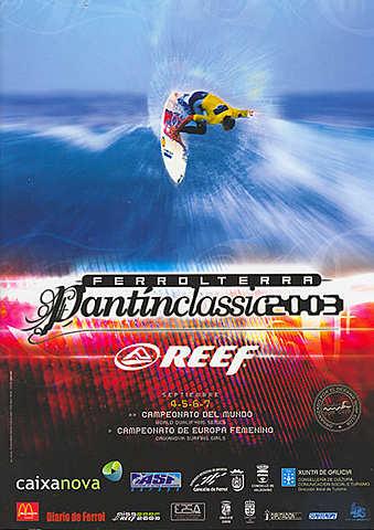 2003 -Eric Rebiere gana y Emmanuelle-Jolly Thomas vence en la competición femenina.