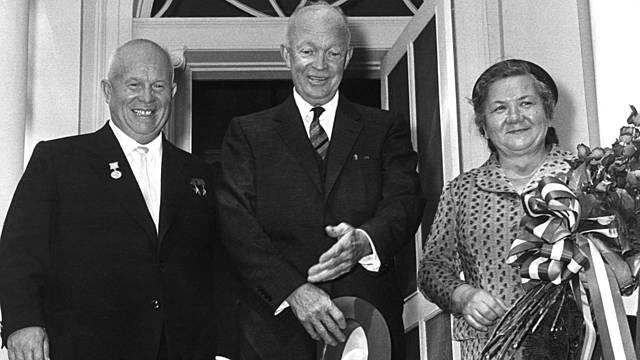 Chruschtschow zu Besuch in den Vereinigten Staaten