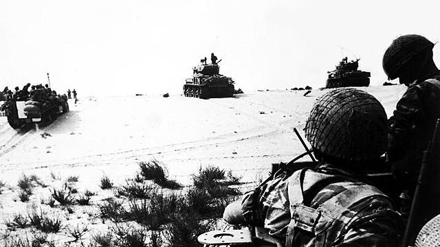 Beginn des Sechstagekriegs