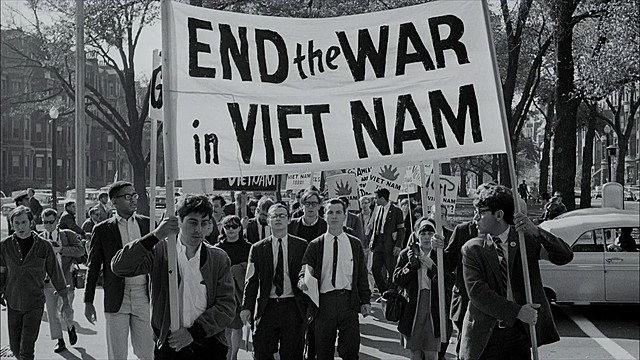 Vereinigte Staaten: Anti-Vietnamesische Demonstration