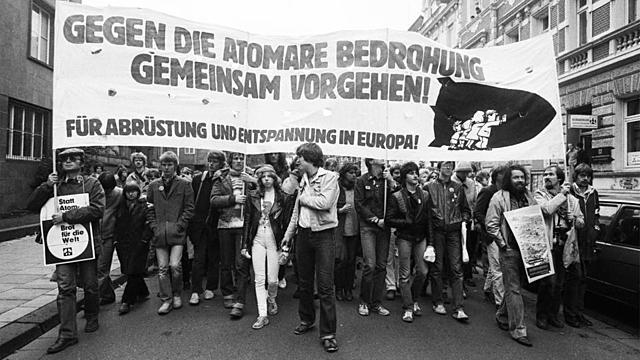 Großdemonstration in Bonn