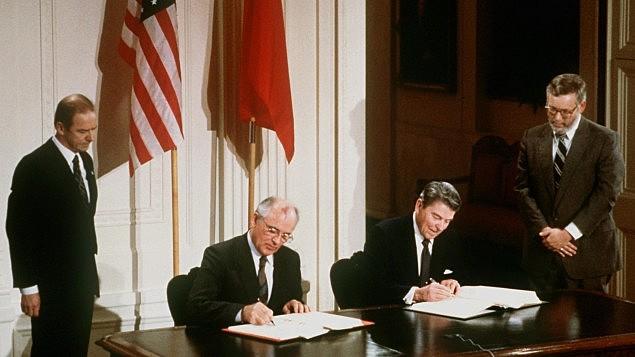 INF Abrüstungsvertrag