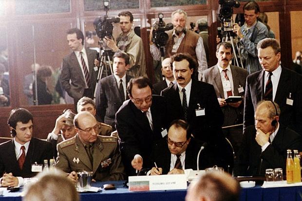 Ende des Warschauer Pakts