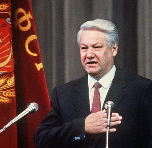 Die Sowjetunion löst sich auf.