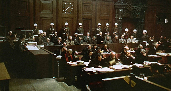 Urteilsverkündung in den Nürnberger Prozessen